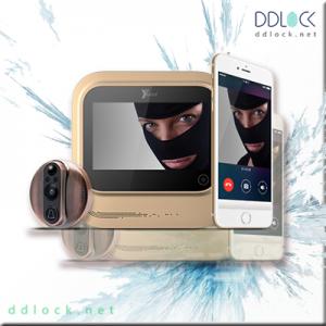 چشمی درب دیجیتال - قفل هوشمند ddlock
