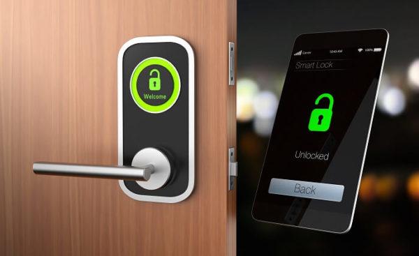 انواع قفل الکترونیکی