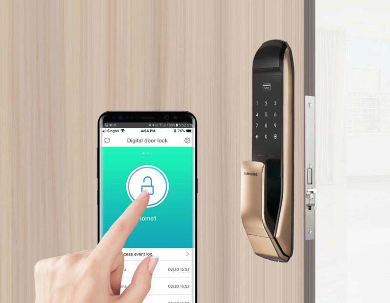 نحوه شناسایی اثر انگشت در قفل های الکترونیکی