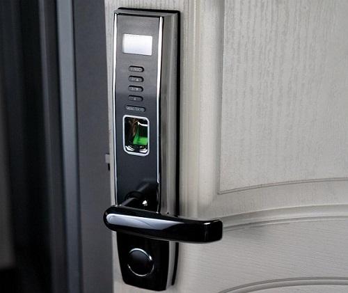قفل امنیتی اثر انگشت