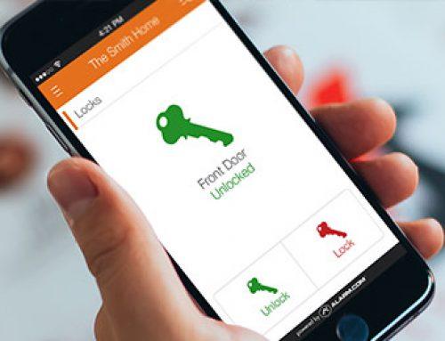 کنترل درب های هتل با استفاده از تلفن همراه