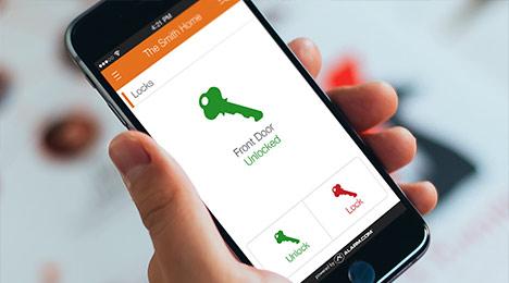 دسترسی به قفل های هتل با استفاده از تلفن همراه