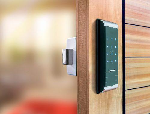 قفل کارتی درب آپارتمان