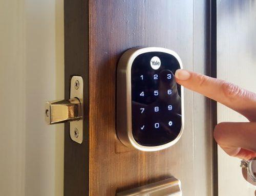 استفاده از قفل هوشمند در ساختمان